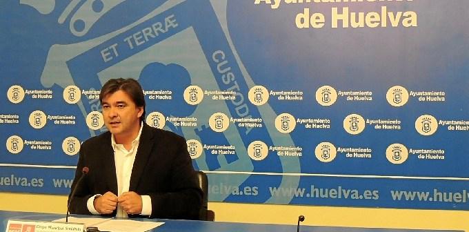 Gabriel Cruz ante los medios de comunicación este martes.