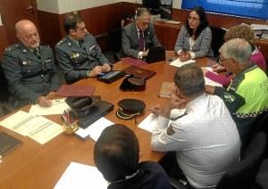 Junta Local de Seguridad en Minas de Riotinto.