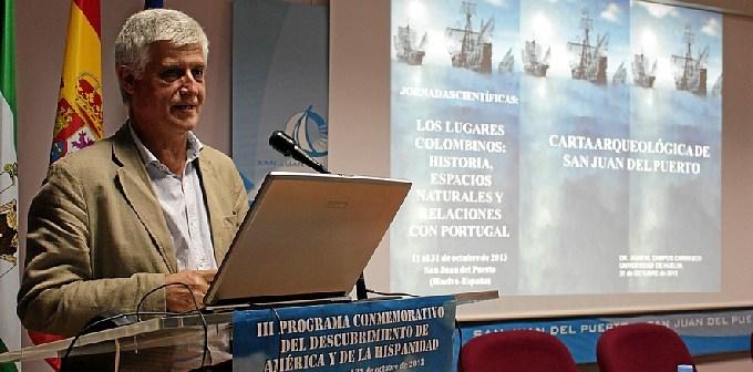 Conferencia de Campos sobre la carta arqueológica de San Juan.