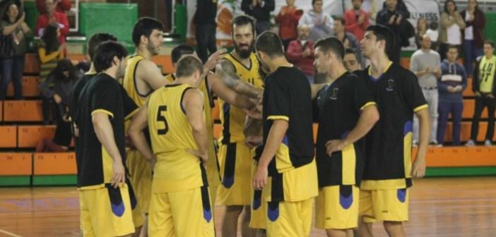 Equipo del Por Huelva en Liga EBA.