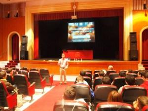Jornada formativa de deportes en Aljaraque.