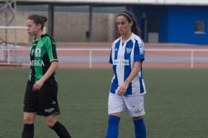 Maite, jugadora del Fundación Cajasol San Juan. (Juanma Arrazola)