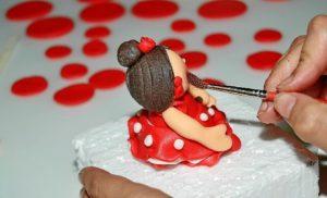Algunas tartas llegan a ser puro arte.