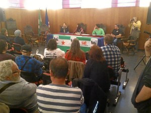 Asamblea provincial del SAT en Huelva.