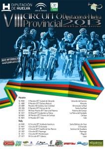 Cartel de la Gala Provincial de ciclismo.