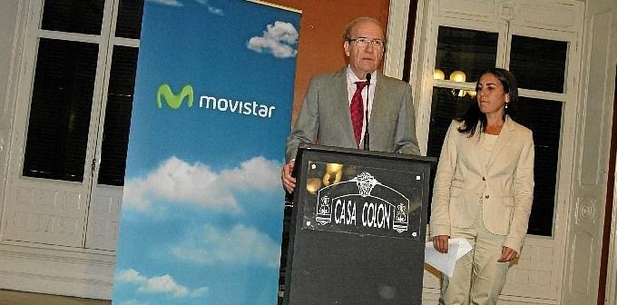 Presentación en Huelva de los planes de mejora de Movistar.