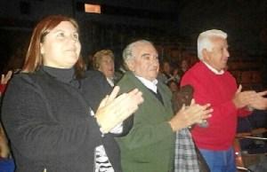 Carmen Cárdenas en el acto.