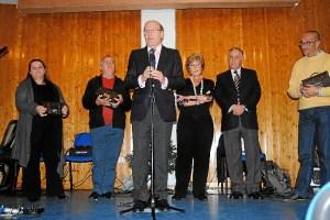 El alcalde, durante su intervención en el Nuevo Molino.