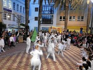 Danza en el centro de Ayamonte.