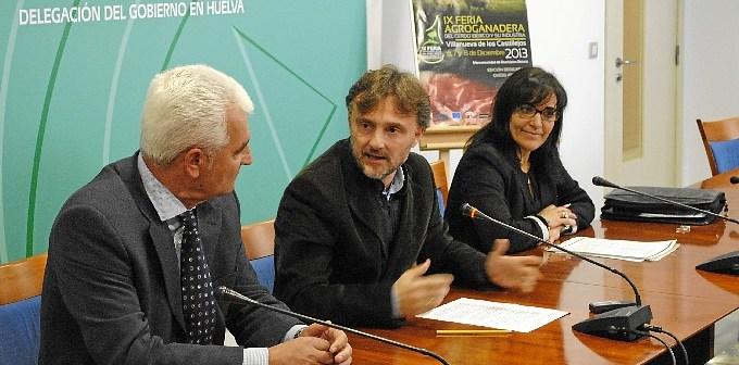 Presentación de la Feria Agroganadera de Castillejos.