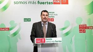Jesús Ferrera en rueda de prensa.