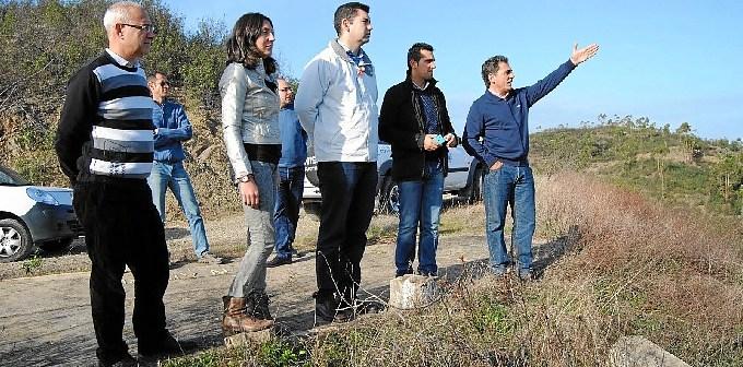 La alcaldesa tiene puestas grandes expectativas en el proyecto Masa Valverde.