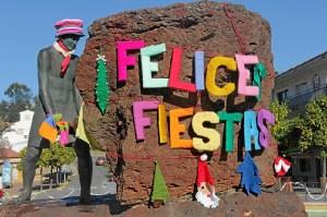 Así desea Riotinto este año Felices Fiestas. (José Carlos Sánchez-Multimagenestudio)