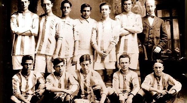 Primer equipo del Recreativo de Huelva en su centenaria historia.
