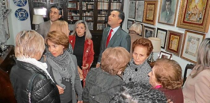 Interior de la sala dedicada a Curro Garfias.