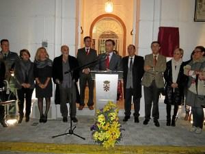Acto de reapertura de la casa natal de Juan Ramón.