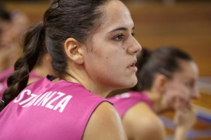 Amaya Gastaminza, jugadora del CB Conquero.