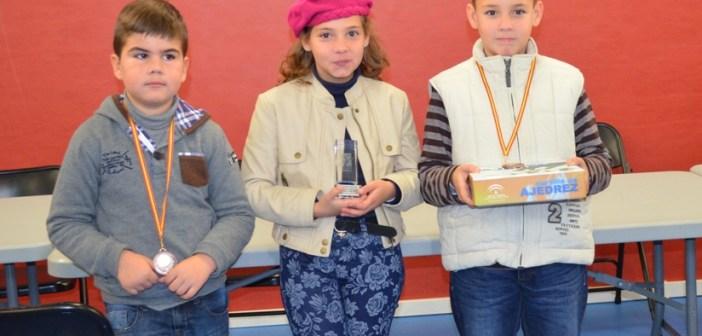 Jóvenes ajedrecistas palmerinos.