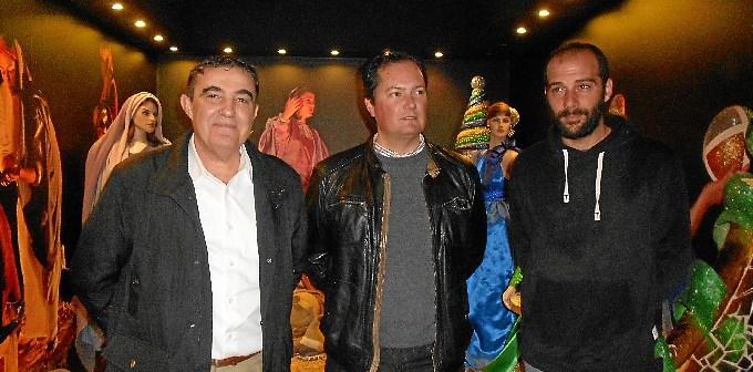 Un momento de la visita en el museo Cabalgata Higuera.
