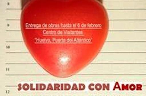 cartel solidaridad con amor