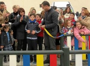 inauguracion del nuevo parque