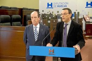 Rueda de prensa en la que se ha presentado la oferta de Huelva en Fitur.
