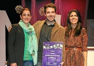 Ganadores del certamen de cortos en La Palma en la pasada edición.