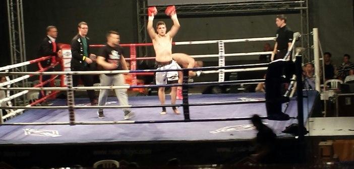 Jesús M. González, deportista de kick-boxing de La Palma.