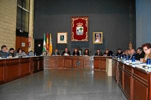 Los ediles en el Pleno de Isla Cristina