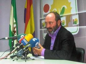 Pedro Jimenez, coordinador provincial IU Huelva