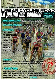 Cartel del Trofeo La Palma de Ciclismo.