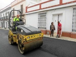 asfaltado bda platero Moguer