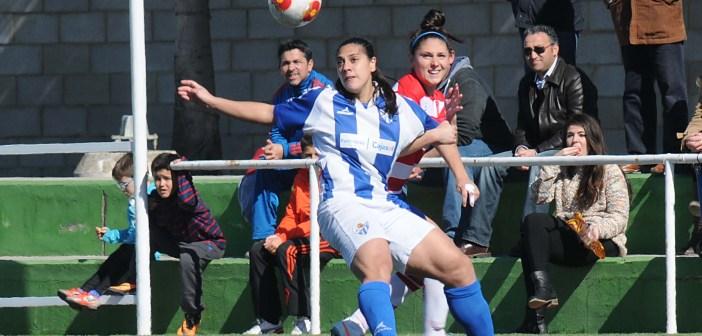 Ángela Sosa, jugadora del Fundación Cajasol San Juan. (Espínola)
