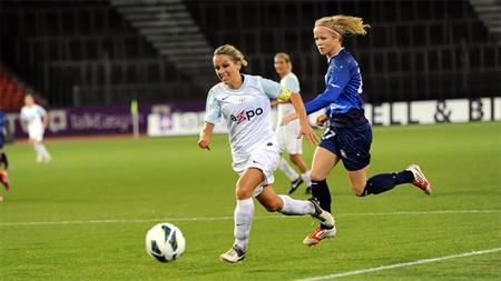 Equipo del Zurich femenino.