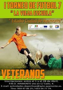 Torneo de veteranos 'La Vieja Escuela' en Ayamonte.