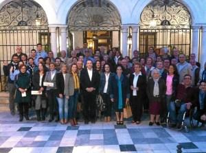Alcalde, concejales y asociaciones