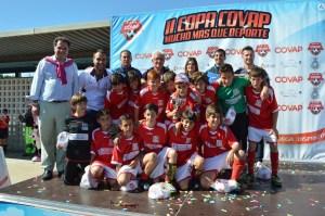 Siempre Alegres, campeón de II Copa Covap en San Juan del Puerto.