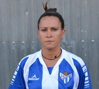 Espe, jugadora del Fundación Cajasol San Juan.