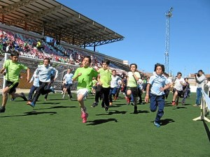 Miniolimpiadas de Atletismo