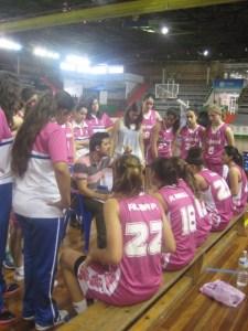 Hugo Pinto, entrenador cadete del Conquero-Huelva femenino.