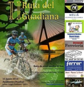 Ruta cicloturista del Guadiana.