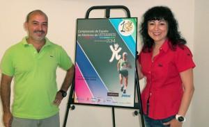 Presentación del Campeonato de España de Atletismo de veteranos.