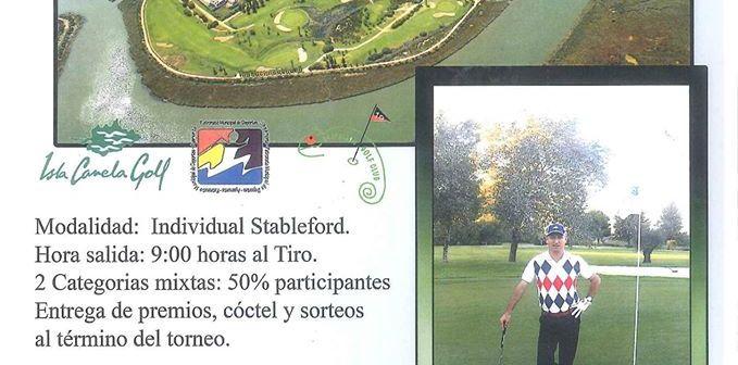 Open Camaleón de golf en Isla Canela.
