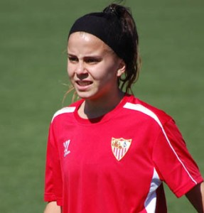 Paulita Perea, nueva jugadora del Cajasol Sporting.