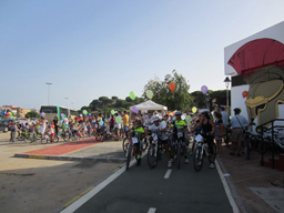 Fiesta de la Bici en Matalascañas.