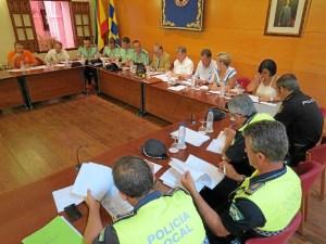 Junta Seguridad Moguer