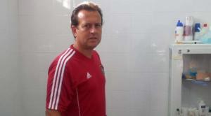 Manuel Beaus, jefe de los servicios médicos del Recreativo de Huelva.