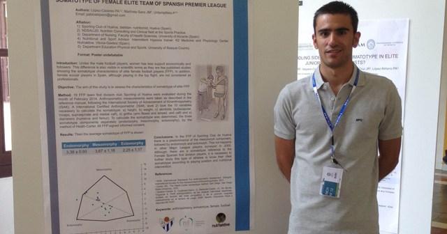 Pablo López, nutricionista del Fundación Cajasol Sporting.