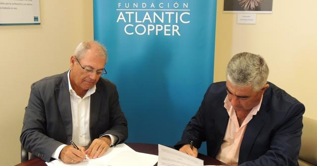 Convenio entre Atlantic Copper y el Real Club Marítimo de Huelva.