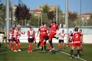Partido de pretemporada Santa Teresa-Fundación Cajasol Sporting.